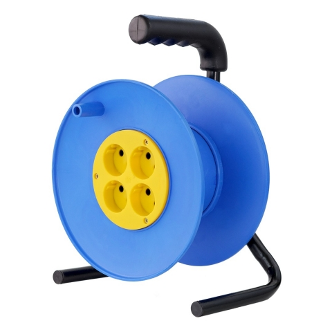 products/Катушка без провода GLANZEN 4 гн. с зазем. Ф240мм EL-00-240Z