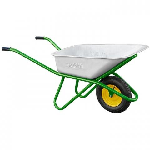 products/Тачка садово-строительная, усиленная, грузоподъемность 200 кг, объем 90 л Palisad, 689183
