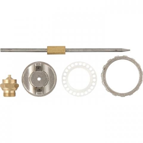 products/Ремкомплект для краскораспылителя 4 предмета : сопло 1,2 мм + игла + форсунка + зажим сопла MATRIX