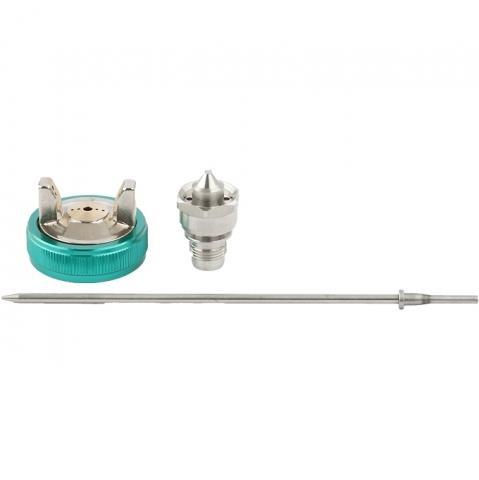 products/Набор для краскораспылителя AS802HVLP: сопло 1,7мм, игла, чашка Stels