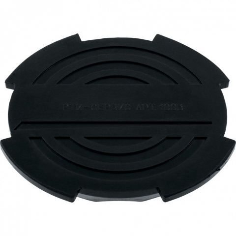 products/Резиновая опора для подкатного домкрата D 130 мм Matrix Россия, 50904