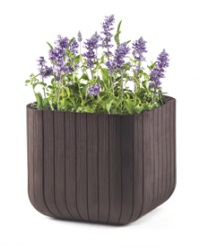 "products/Кашпо ""CUBE PLANTER L"" Keter  (арт. 17201220)"