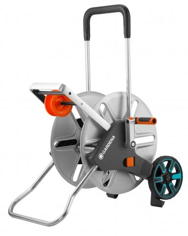 products/Тележка для шлангов металлическая Gardena AquaRoll L Easy