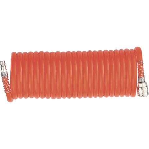 products/Шланг спиральный воздушный 8 х 12 мм, 18 бар, с быстросъемными соединениями, 15 метров STELS