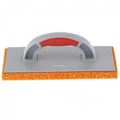 products/Терка пластмассовая, гидрорезиновое покрытие 18 мм, 270 x 130 мм, двухкомпонентная ручка Matrix, 86807