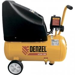 products/Компрессор воздушный безмасляный Denzel NEW LC 24-195 , 1,1 кВт, 195 л/мин, 24 л, 8 бар (арт. 58072)
