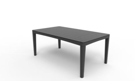 "products/Стол ""Girona table flat waves"" Allibert  (арт. 17204424)"