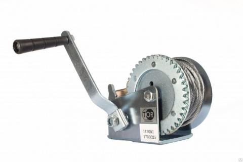 products/Лебедка ручная TOR ЛФ-2000 1006140 (FD) г/п 0,8 т, длина троса 10 м