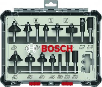 products/Набор фрез смешанный Bosch 8мм. 15шт. (арт. 2607017472)