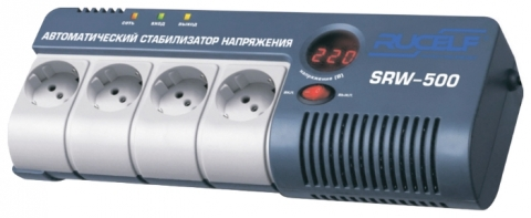 products/Стабилизатор напряжения релейный RUCELF SRW-500-D
