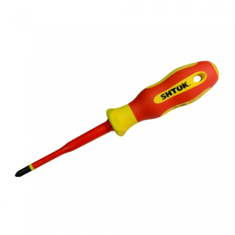 products/Отвертка диэлектрическая Ph2х100 мм, SHTOK 09320