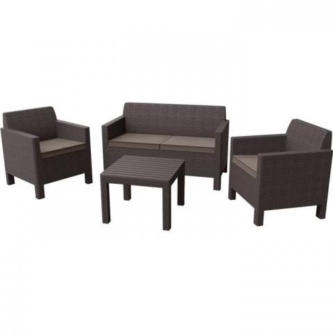 "products/Комплект мебели ""Orlando set with small table"" Allibert  (арт. 17202809)"