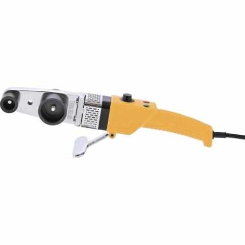 products/Аппарат для сварки пластиковых труб DENZEL DWP-800 X-PRO, 800 Вт, 300 град, комплект насадок, 20-32 мм (арт. 94207)