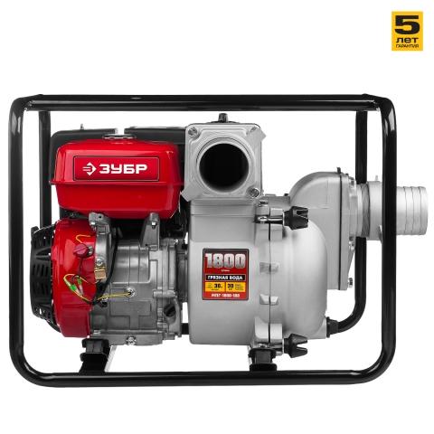 products/Мотопомпа бензиновая, ЗУБР МПГ-1800-100