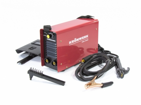 products/Аппарат инверторный Kronwerk MMA-200IW, 200 А, ПВР 60%, диам. эл. 1,6-5 мм, провод 2 м (арт. 94343)