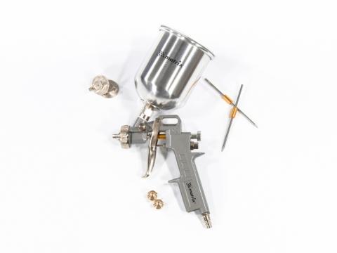 products/Краскораспылитель пневмат. с верхним бачком V=1,0 л + сопла диаметром 1.2, 1.5 и 1.8 мм MATRIX
