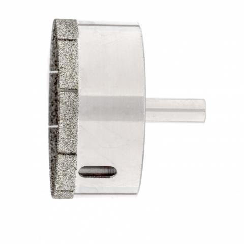 products/Сверло по стеклу и керамической плитке, 60 х 55 мм, цилиндр. хв., Сибртех, 726607