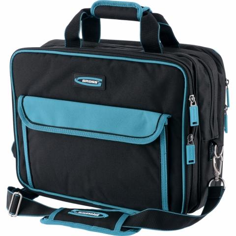 products/Сумка для инструмента Meister, 31 карман, отсек для ноутбука, наплечный ремень, 400 х 170 х 300 мм GROSS
