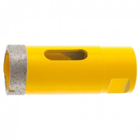 products/Сверло алмазное по керамограниту, 30 мм, мокрая резка, М14 Denzel, 72683