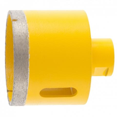 products/Сверло алмазное по керамограниту, 70 мм, мокрая резка, М14 Denzel, 72694