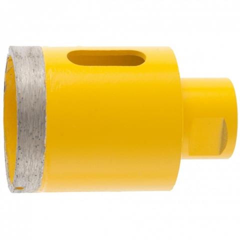 products/Сверло алмазное по керамограниту, 50 мм, мокрая резка, М14 Denzel, 72689