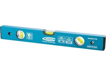 products/Уровень алюминиевый усиленный, 2000 мм, толщина проф. 2 мм, 3 глазка GROSS 33640