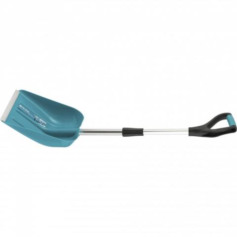 products/Лопата для уборки снега пластиковая LUXE,270х310х760-960 мм, телескопический черенок, Palisad, 615005