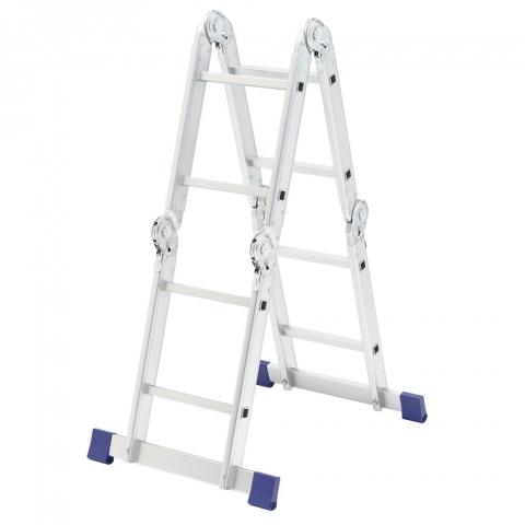 products/Лестница шарнирная алюминиевая, 4х2, Россия// Сибртех 97879