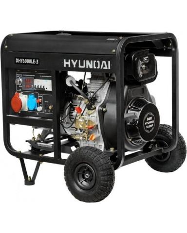 products/Генератор дизельный Hyundai DHY 6000LE