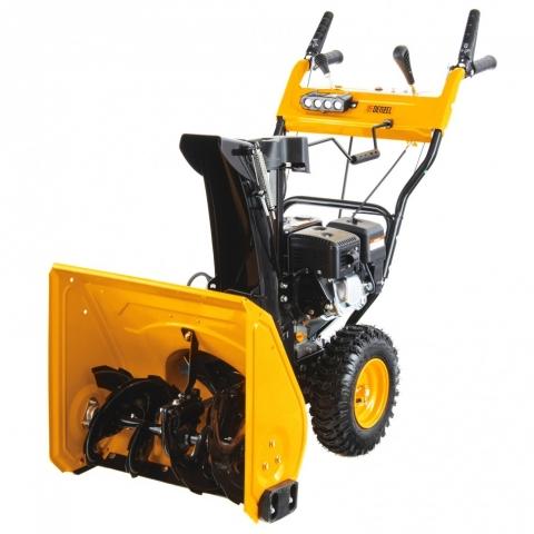 products/Бензиновая снегоуборочная машина SB 650 E, 6,5 л.с, Loncin, с электростартером, фара Denzel (97602)