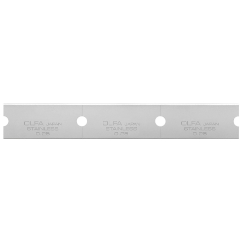 products/Лезвие прямое 120 мм, 30 шт для скребков GSR-1/3B, GSR-2 OLFA OL-GSB-1S