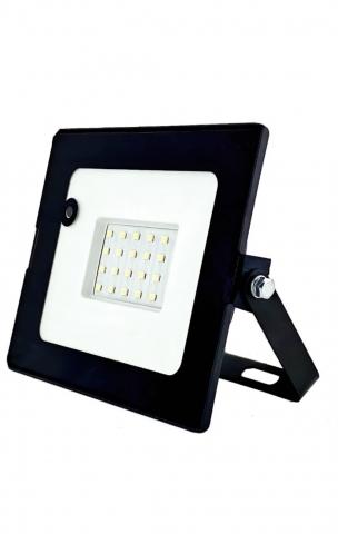 products/Светодиодный прожектор c датчиком движения GLANZEN 20Вт FAD-0011-20-SL 6500K IP65