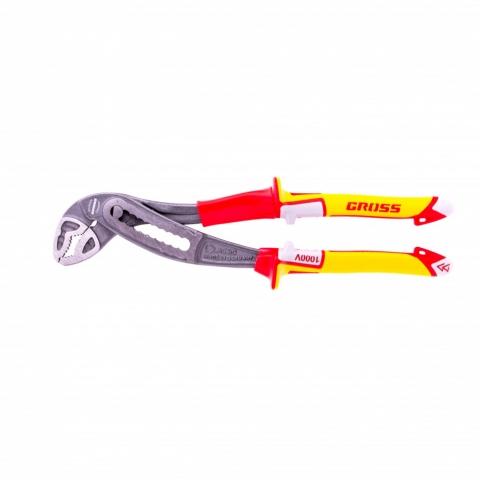 products/Клещи переставные, диэлектрические рукоятки до 1000 В, 240 мм Gross, 15725