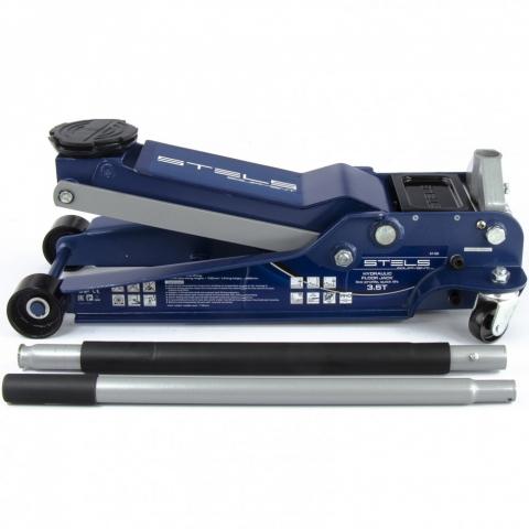 products/Домкрат гидравлический подкатной, быстрый подъем, 3,5т, Low Profile Quick, 100-565 мм, профессиональный Stels (51135)