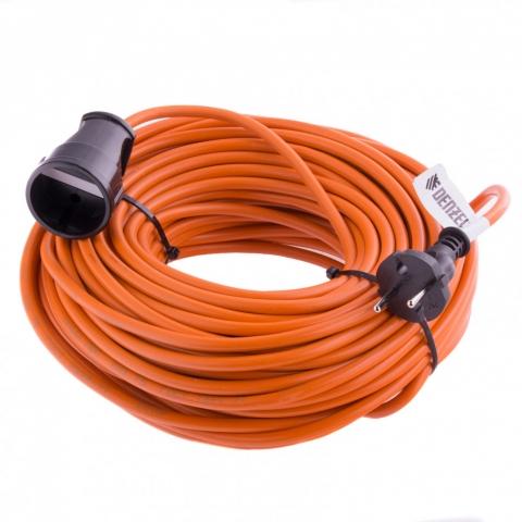 products/Удлинитель-шнур силовой, 10 м, 1 розетка, 10 A, серия УХ10 Denzel, 95910