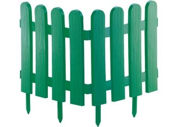 products/Забор декоративный Кантри, 29 х 224 см, зеленый PALISAD