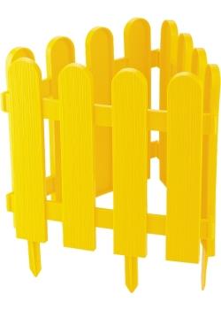 products/Забор декоративный Кантри, 29 х 224 см, желтый PALISAD