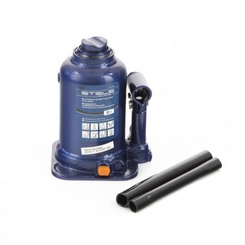 products/Домкрат гидравлический бутылочный телескопический, 6 т, подъем 170-430 мм Stels (51146)