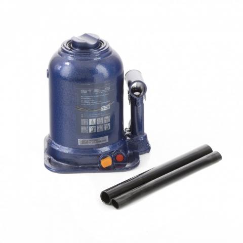 products/Домкрат гидравлический бутылочный телескопический, 10 т, подъем 180-450 мм Stels (51148)