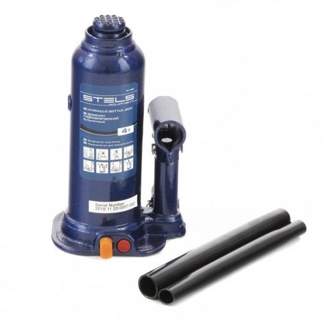 products/Домкрат гидравлический бутылочный, 4 т, h подъема 188-363 мм Stels (51162)