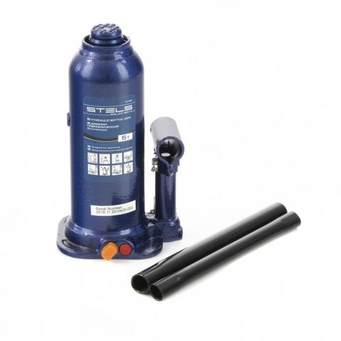 products/Домкрат гидравлический бутылочный, 5 т, h подъема 207-404 мм Stels (51163)