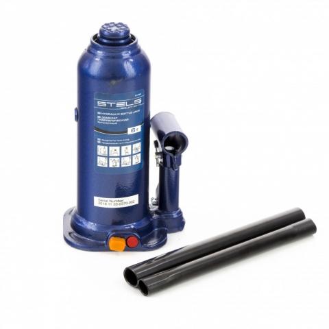products/Домкрат гидравлический бутылочный, 6 т, h подъема 207-404 мм Stels (51164)