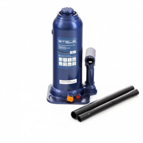 products/Домкрат гидравлический бутылочный, 8 т, h подъема 222-447 мм Stels (51165)
