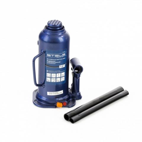 products/Домкрат гидравлический бутылочный, 12 т, h подъема 227-457 мм Stels (51167)
