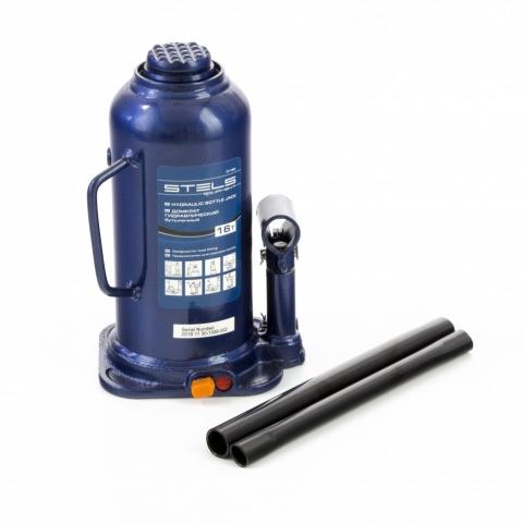 products/Домкрат гидравлический бутылочный, 16 т, h подъема 227-457 мм Stels (51168)
