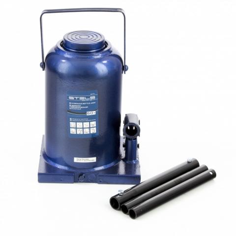 products/Домкрат гидравлический бутылочный, 50 т, h подъема 280-450 мм Stels (51171)
