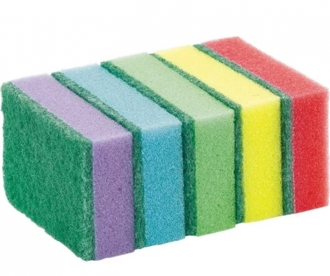 products/Губка для мытья посуды (5 шт.), Факел арт. 87455542