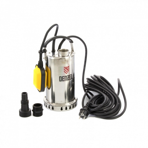 products/Дренажный насос DP600X, 600 Вт, подъем 7,5 м, 8500 л/ч Denzel (97220)
