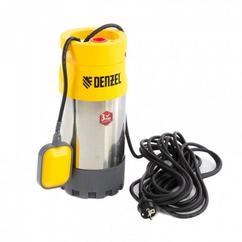 products/Погружной насос высокого давления PH1100, 1100Вт, подъем 40м, 5500 л/ч Denzel (97234)