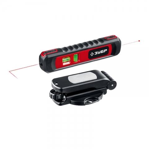 products/ЗУБР ТЛ-8 уровень лазерный, 8 м, точка + линия, точн. +/-0,4 мм/м, подставка-штатив 34926